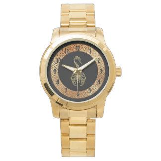 Gold poisonous scorpion very venomous insect watch