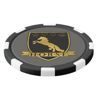 Gold Poker H.O.R.S.E Crest Chips