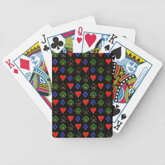 Gold Poker Suits Bicycle Playing Cards