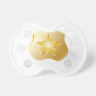 Gold Police Badge Dummy