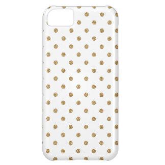 Gold Polka Dot Iphone 5 Case