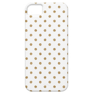 Gold Polka Dot Iphone 5 Case