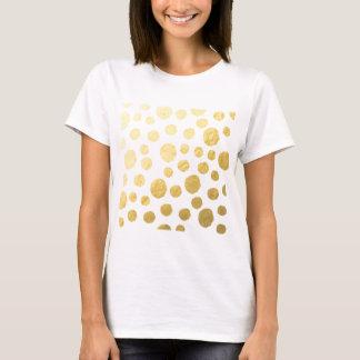 Gold Polka Dots T-Shirt