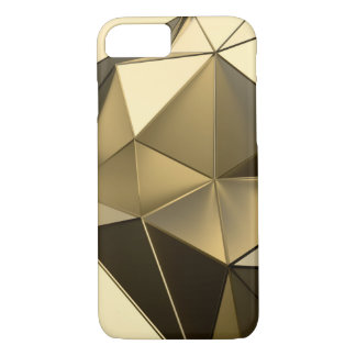gold polygon design iPhone 8/7 case