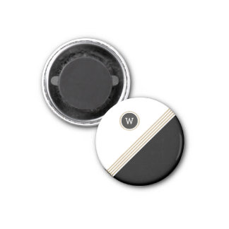 Gold Pro Monogram Magnet
