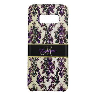 Gold Purple Gold Glitter Damask Galaxy SCase Case-Mate Samsung Galaxy S8 Case