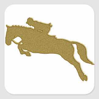 Gold Reiten Sticker