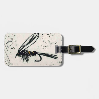 """""""Gold Ribbed Hare's Ear"""" Wet Fly Luggage Tag"""