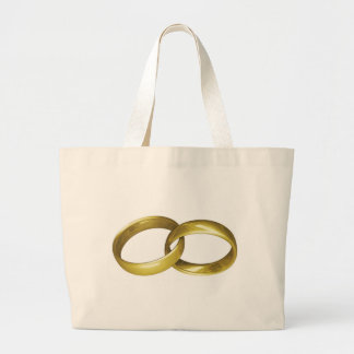 Gold Rings Canvas Bags