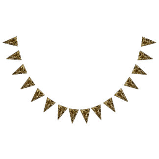 Gold Rings Bunting