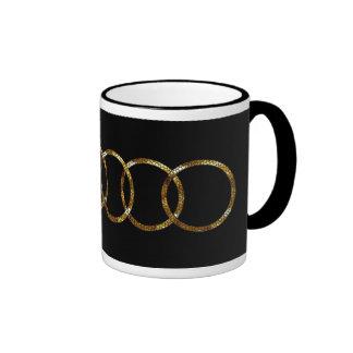 Gold rings - Mug