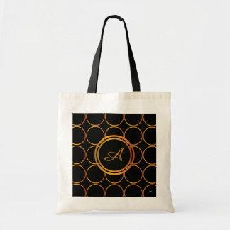 Gold rings tote bag