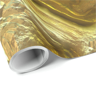 Gold River 1 Wrapping Paper