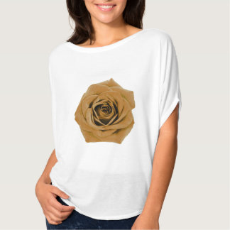Gold Rose accent T-Shirt