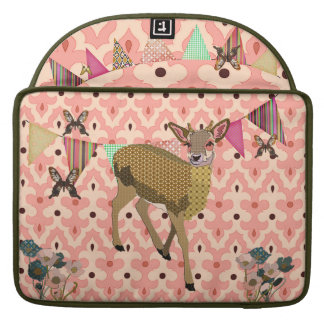 Gold Rose Fawn Pink Macbook Sleeve MacBook Pro Sleeves