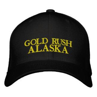 GOLD RUSH, ALASKA EMBROIDERED HAT