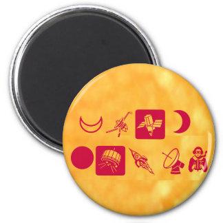 Gold RUSH - Golden CRUSH 6 Cm Round Magnet