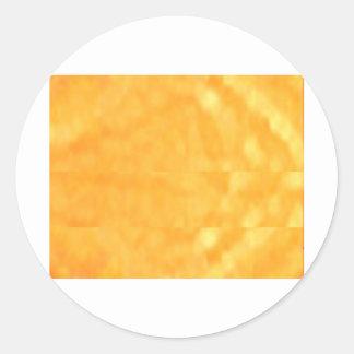 Gold RUSH - Golden CRUSH Round Sticker