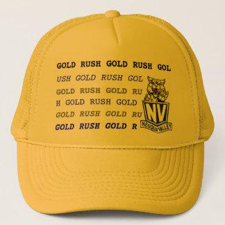 GOLD RUSH YLW 2 TRUCKER HAT