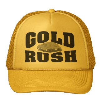 Gold Rush YLW Cap