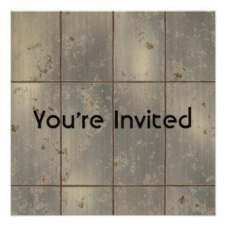 Gold Rust Invite