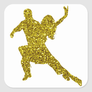 Gold Salsa Sticker