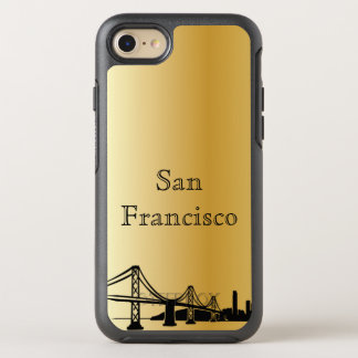 Gold San Francisco Skyline Silhouette Case