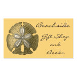 Gold Sand Dollar Business Cards