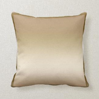 Gold Sateen Satin Shine Modern Glamour Glam Cushion