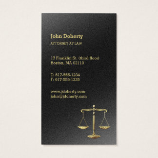 Gold Scales of Justice | Attorney at Law