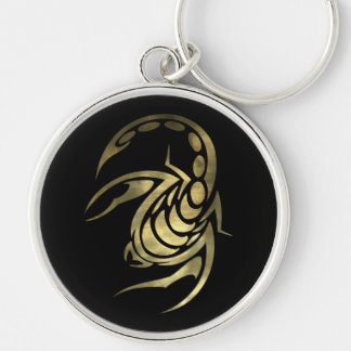 Gold Scorpio Scorpion Key Ring