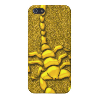 Gold Scorpion  iPhone 5 Case