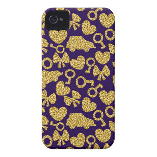 gold seamless pattern 3 .1 iPhone 4 covers