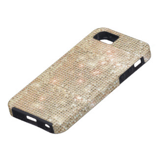 Gold Sequins iPhone 5 Tough Case