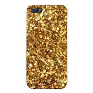Gold sequins iPhone case iPhone 5 Case