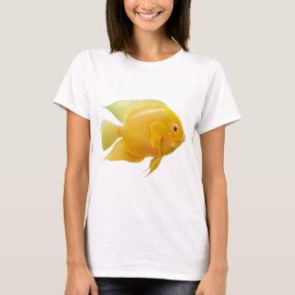 Gold Severum Cichlid Ladies Babydoll T-Shirt