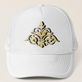 Gold Shadowed Emblem Trucker Hat