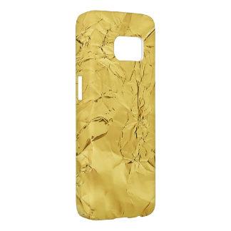 gold shiny foil