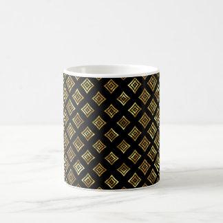 Gold Shiny Geometric Shapes Coffee Mug