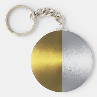 Gold & Silver Keychain