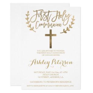 first communion 1st holy communion invitations zazzle com au