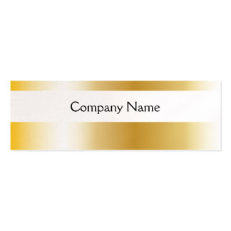 GOLD - Skinny Business Card