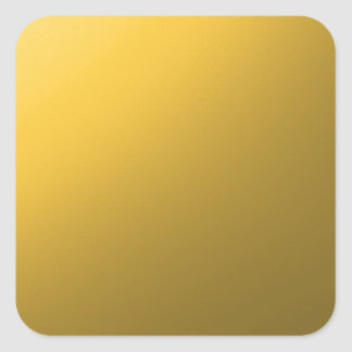 gold,small abstract coloured pattern square sticker