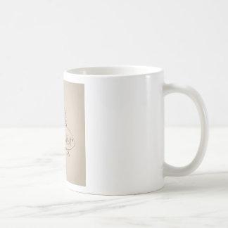 Gold small fish coffee mug
