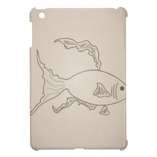 Gold small fish iPad mini covers