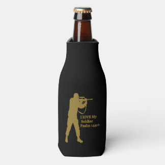 Gold solder snipper bottle cooler