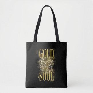 Gold Soul Bag
