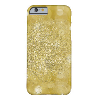 Gold Sparkle Barely There iPhone 6 Case