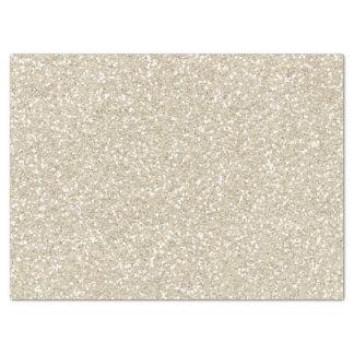 Gold Sparkle Faux Glitter Tissue Paper