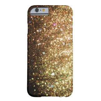 Gold Sparkle Glitter iPhone 6 case Christmas Barely There iPhone 6 Case